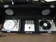 Portable DJ KIT- STANTON STR8-80 Turntables,  SK-SIX Mixer, Odessy carrying case